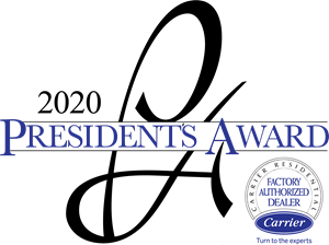 Palm Air is a 4x winner of the Carrier President's Award.