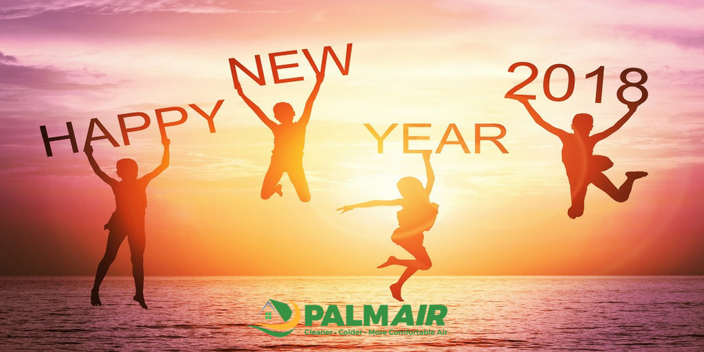 Happy New Year From All Of Us At Palm Air!