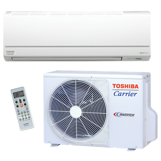 Toshiba Carrier Residential Ductless Highwall Heat Pump System RAS-EAV/EKV