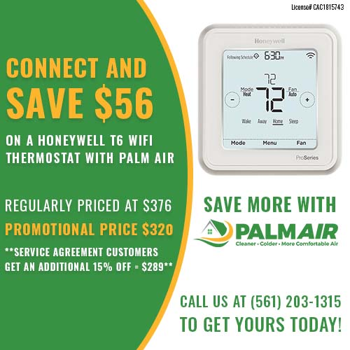 Palm Air Mother's Day Special Offer